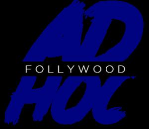 Logo Adhoc par Follywood